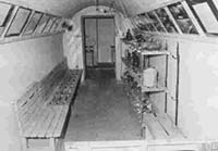 Interior View of the Air-raid Shelter
